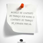 MODELO DE CONTRATO DE TRABAJO POR HORAS