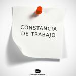 MODELO DE CONSTANCIA DE TRABAJO (ART. 84 L.O.T.T.T.)
