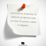 NOTIFICACIÓN DE PRESTACIONES SOCIALES/ FONDO DE GARANTÍA