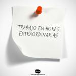 👋❤️  NORMAS EN RELACIÓN AL TRABAJO EN HORAS  EXTRAORDINARIAS (HORAS EXTRAS)