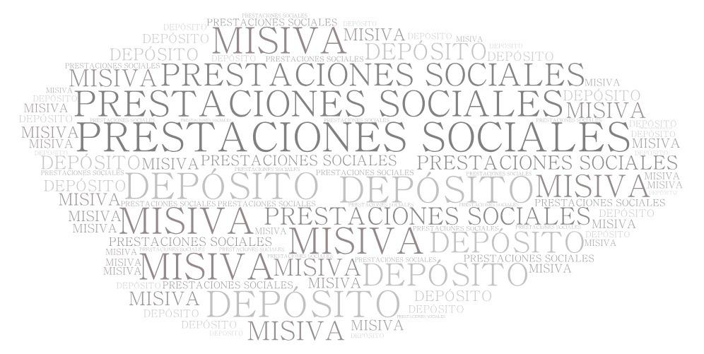 MODELO DE CARTA DONDE EL TRABAJADOR MANIFIESTA DONDE DESEA QUE DEPOSITEN SUS PRESTACIONES SOCIALES