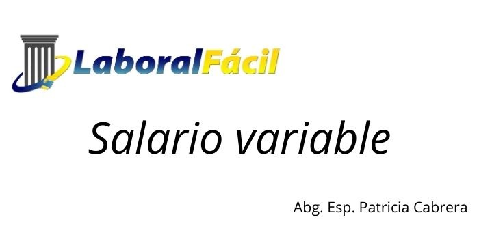 Salario variable